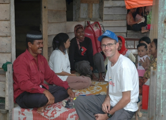 Pete Howard led efforts in tsunami-ravaged Indonesia in 2005. Now he is taking on another enormous task: political advocacy in the U.S.